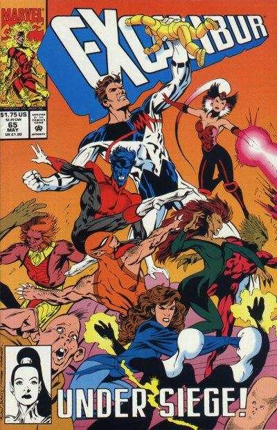 Excalibur #65 Comic Books - Covers, Scans, Photos  in Excalibur Comic Books - Covers, Scans, Gallery
