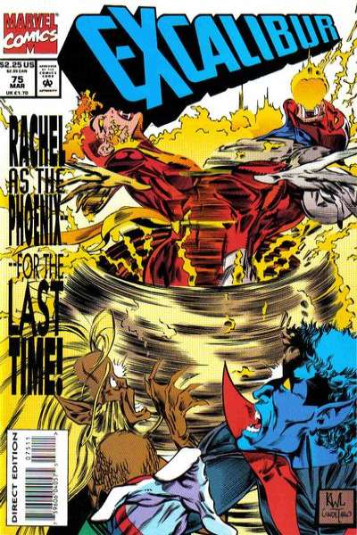 Excalibur #75 Comic Books - Covers, Scans, Photos  in Excalibur Comic Books - Covers, Scans, Gallery