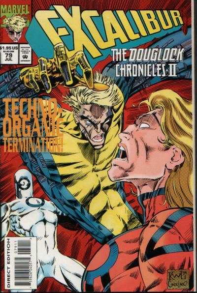 Excalibur #79 comic books - cover scans photos Excalibur #79 comic books - covers, picture gallery