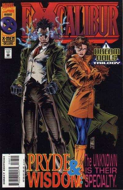 Excalibur #88 comic books for sale