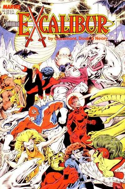 Excalibur #1 comic books - cover scans photos Excalibur #1 comic books - covers, picture gallery