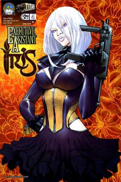 Executive Assistant: Iris #4 Comic Books - Covers, Scans, Photos  in Executive Assistant: Iris Comic Books - Covers, Scans, Gallery