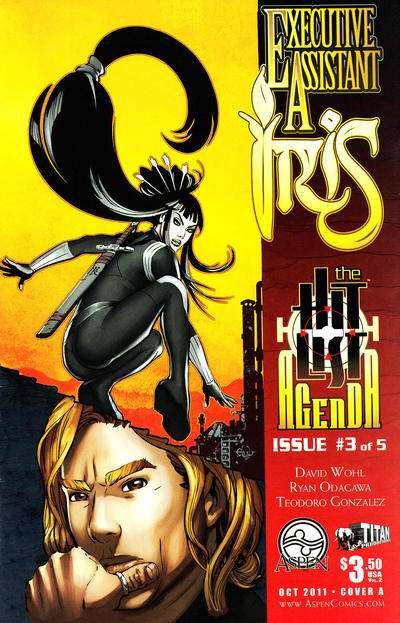 Executive Assistant: Iris #3 comic books for sale