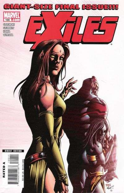 Exiles #100 comic books for sale