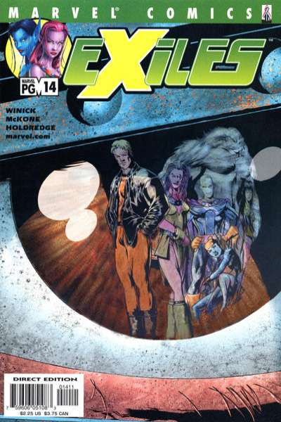 Exiles #14 comic books - cover scans photos Exiles #14 comic books - covers, picture gallery