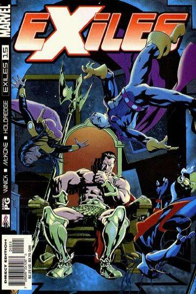 Exiles #15 comic books - cover scans photos Exiles #15 comic books - covers, picture gallery