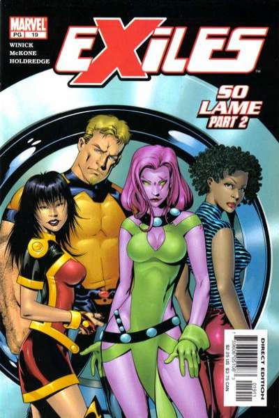 Exiles #19 comic books - cover scans photos Exiles #19 comic books - covers, picture gallery