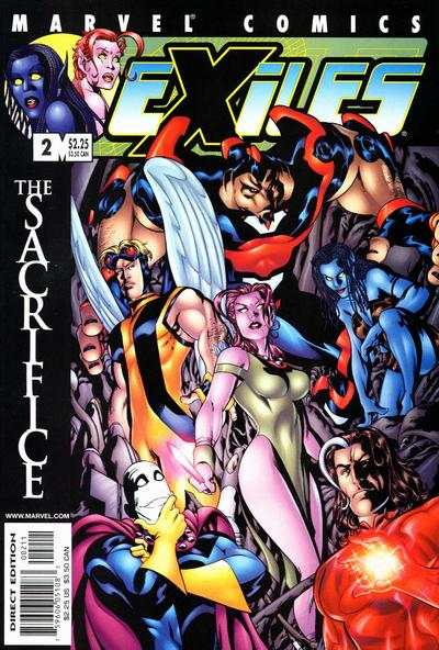 Exiles #2 comic books - cover scans photos Exiles #2 comic books - covers, picture gallery