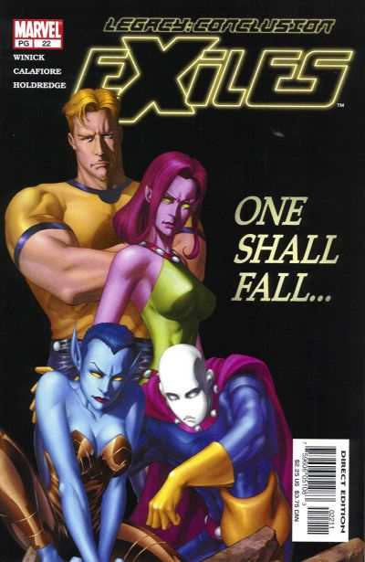 Exiles #22 comic books - cover scans photos Exiles #22 comic books - covers, picture gallery