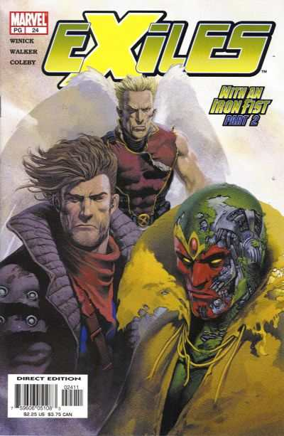 Exiles #24 comic books - cover scans photos Exiles #24 comic books - covers, picture gallery
