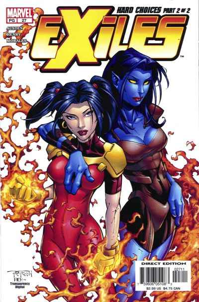 Exiles #27 comic books - cover scans photos Exiles #27 comic books - covers, picture gallery