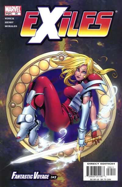 Exiles #35 comic books - cover scans photos Exiles #35 comic books - covers, picture gallery