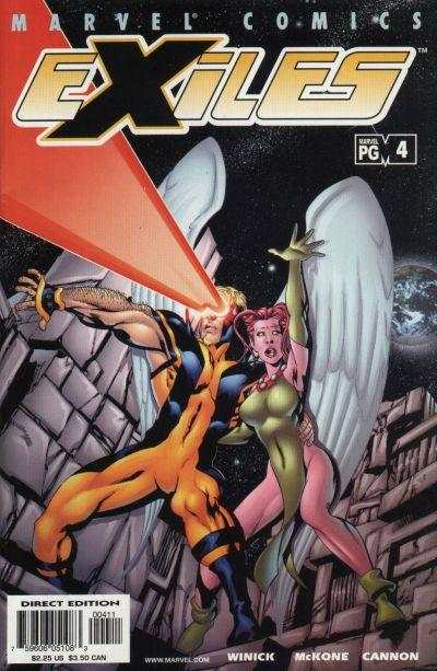 Exiles #4 comic books - cover scans photos Exiles #4 comic books - covers, picture gallery