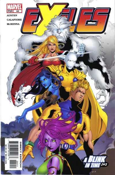 Exiles #44 comic books for sale
