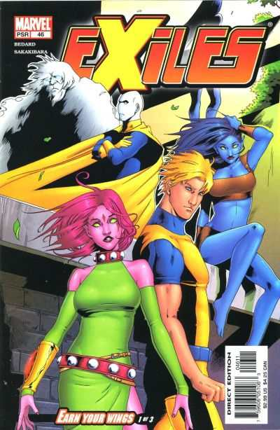 Exiles #46 comic books - cover scans photos Exiles #46 comic books - covers, picture gallery