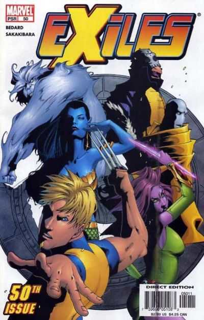 Exiles #50 comic books - cover scans photos Exiles #50 comic books - covers, picture gallery
