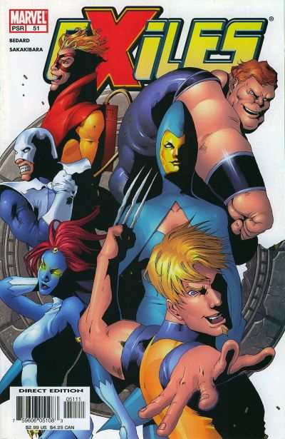 Exiles #51 comic books - cover scans photos Exiles #51 comic books - covers, picture gallery