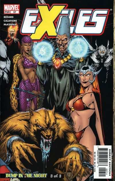 Exiles #57 comic books - cover scans photos Exiles #57 comic books - covers, picture gallery