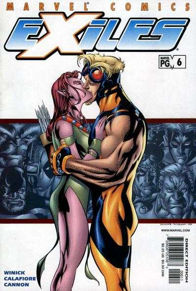 Exiles #6 comic books - cover scans photos Exiles #6 comic books - covers, picture gallery