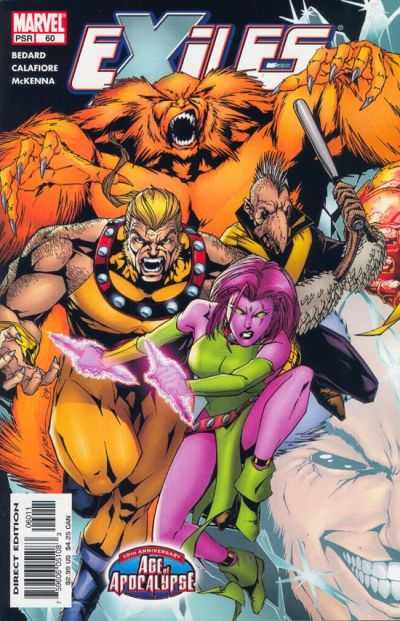 Exiles #60 comic books - cover scans photos Exiles #60 comic books - covers, picture gallery