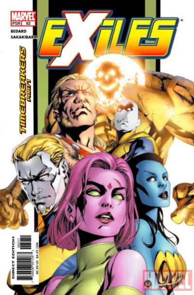 Exiles #62 comic books - cover scans photos Exiles #62 comic books - covers, picture gallery