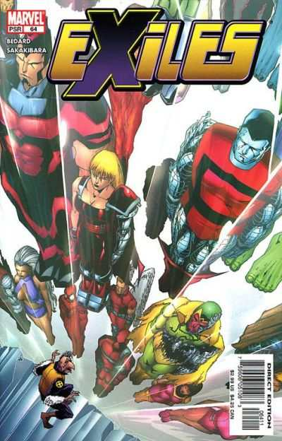 Exiles #64 comic books - cover scans photos Exiles #64 comic books - covers, picture gallery