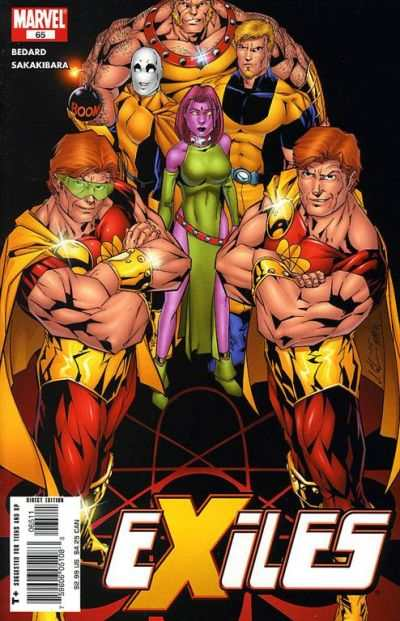 Exiles #65 comic books - cover scans photos Exiles #65 comic books - covers, picture gallery