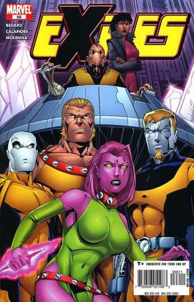 Exiles #66 comic books - cover scans photos Exiles #66 comic books - covers, picture gallery