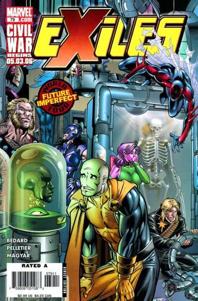 Exiles #79 comic books - cover scans photos Exiles #79 comic books - covers, picture gallery