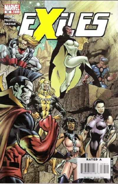 Exiles #88 comic books for sale