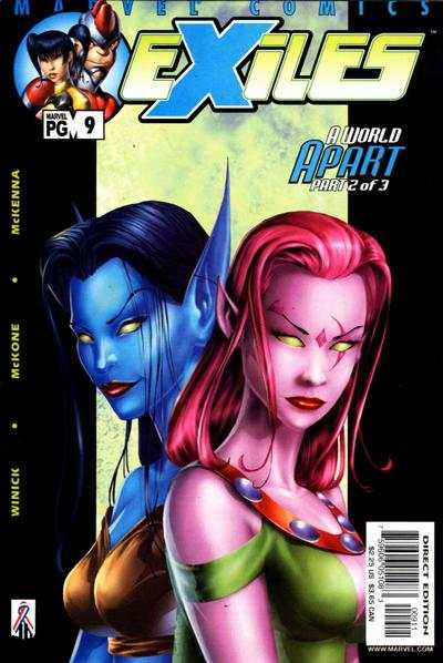 Exiles #9 comic books - cover scans photos Exiles #9 comic books - covers, picture gallery