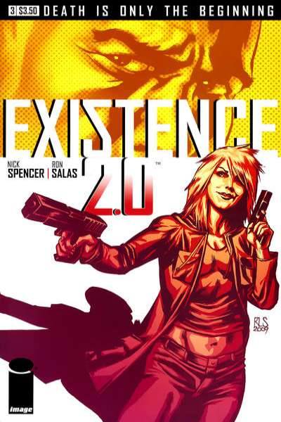 Existence 2.0 #3 comic books - cover scans photos Existence 2.0 #3 comic books - covers, picture gallery