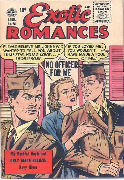 Exotic Romances #28 comic books - cover scans photos Exotic Romances #28 comic books - covers, picture gallery