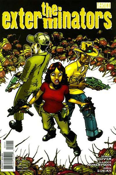 Exterminators #22 comic books for sale
