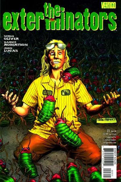 Exterminators #23 comic books for sale