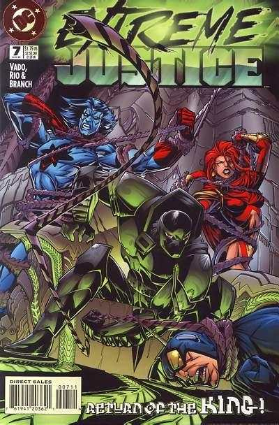 Extreme Justice #7 comic books - cover scans photos Extreme Justice #7 comic books - covers, picture gallery