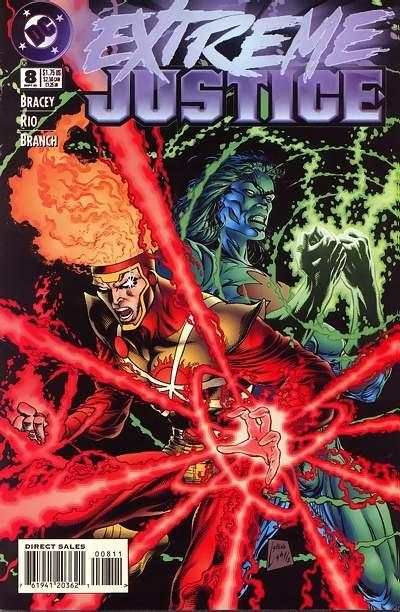 Extreme Justice #8 comic books - cover scans photos Extreme Justice #8 comic books - covers, picture gallery