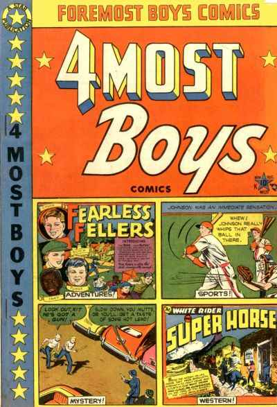 4Most #37 comic books - cover scans photos 4Most #37 comic books - covers, picture gallery
