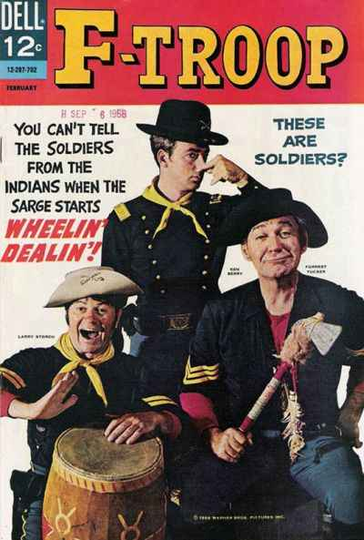 F-Troop #3 Comic Books - Covers, Scans, Photos  in F-Troop Comic Books - Covers, Scans, Gallery