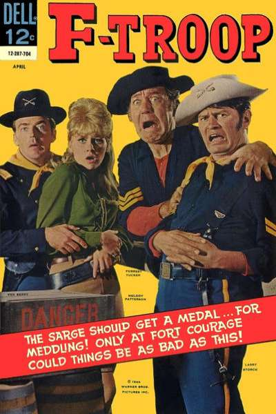 F-Troop #4 comic books for sale