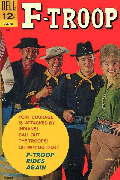 F-Troop #5 comic books for sale