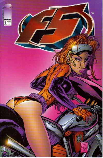 F5 #4 comic books - cover scans photos F5 #4 comic books - covers, picture gallery