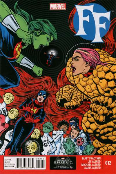 FF #12 Comic Books - Covers, Scans, Photos  in FF Comic Books - Covers, Scans, Gallery