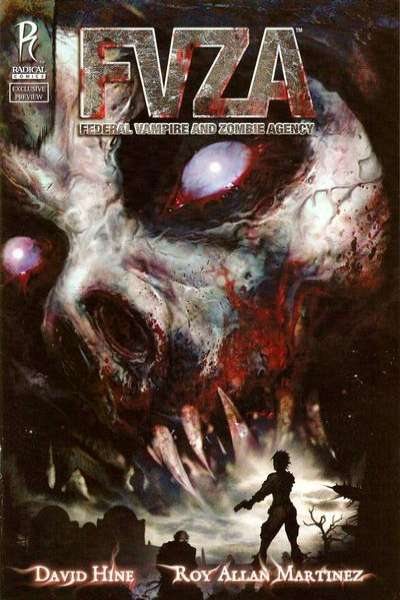 FVZA: Federal Vampire and Zombie Agency #1 comic books for sale
