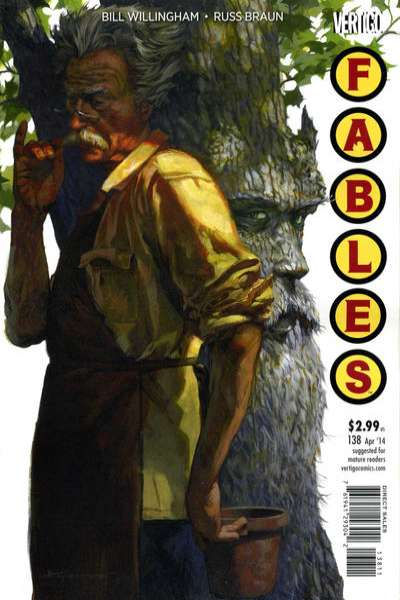 Fables #138 comic books for sale