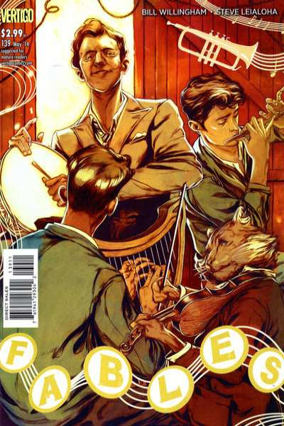 Fables #139 comic books for sale
