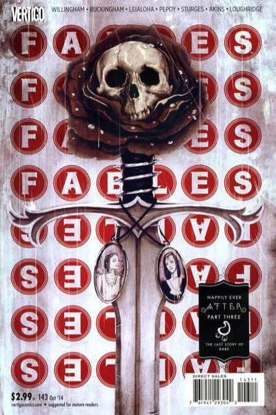 Fables #143 comic books for sale
