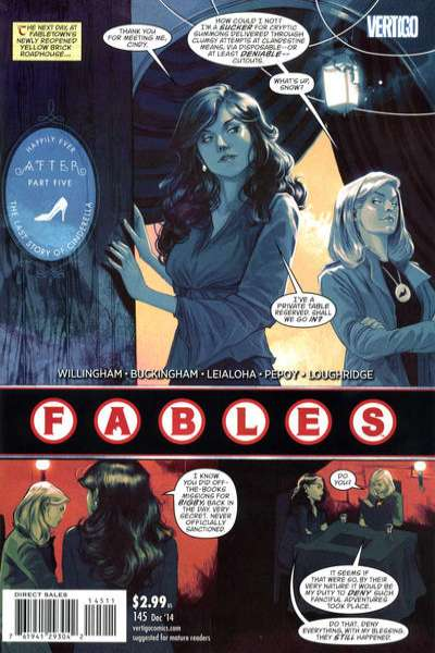 Fables #145 comic books for sale