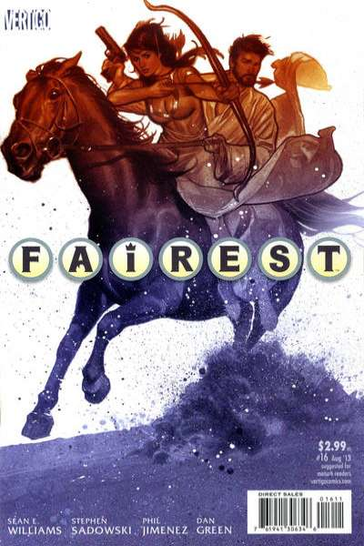 Fairest #16 Comic Books - Covers, Scans, Photos  in Fairest Comic Books - Covers, Scans, Gallery