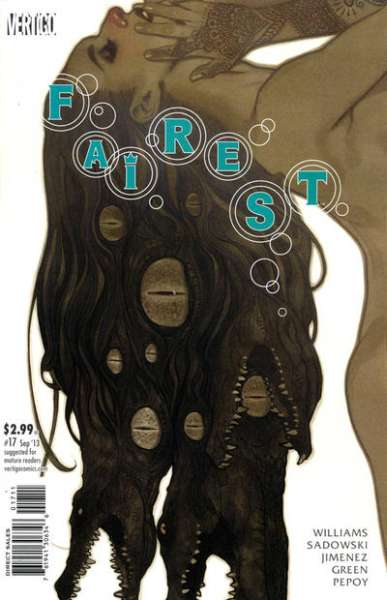 Fairest #17 comic books - cover scans photos Fairest #17 comic books - covers, picture gallery